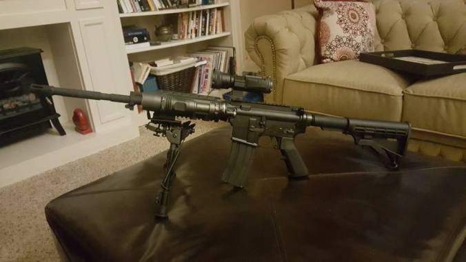 Scary Rifle